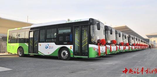 广州新能源车展开幕 多款新车型亮相