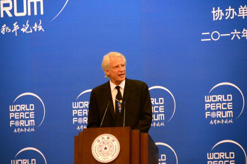 """""""一带一路""""有助地区发展和和平"""