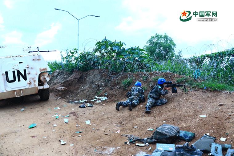 中国赴南苏丹维和步战车遇袭事件经过
