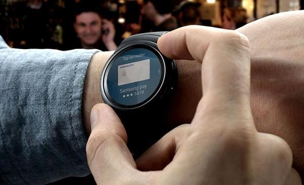 三星Gear S2终于支持Samsung Pay了