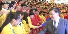 刘云山会见参加第三十一届奥运会中国体育代表团