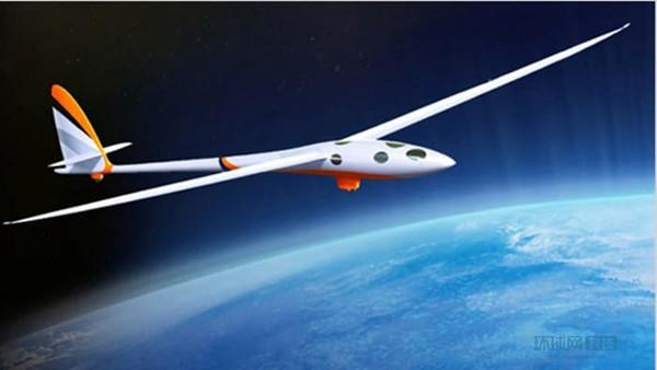全球首架无引擎滑翔机首飞 借气流在9万英尺飞行【组图】 - 春华秋实 - 春华秋实 开心快乐每一天