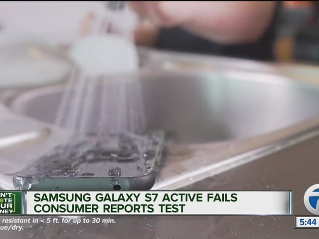 美媒:三星承认少部分GalaxyS7Active防水不达标