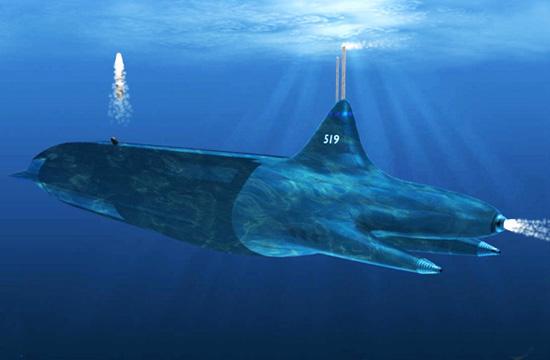 网友设计099核潜艇带105枚巨浪3