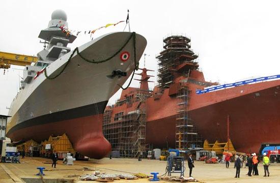 意大利7千吨护卫舰连造10艘