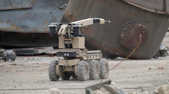 英国利用机器人成功拆除一废弃电厂