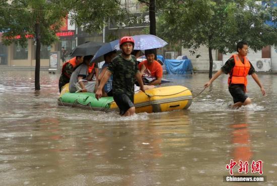 河北省防指启动防汛III级应急响应 局部现特大暴雨