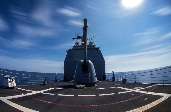 在南海游荡的不光只有美军航母