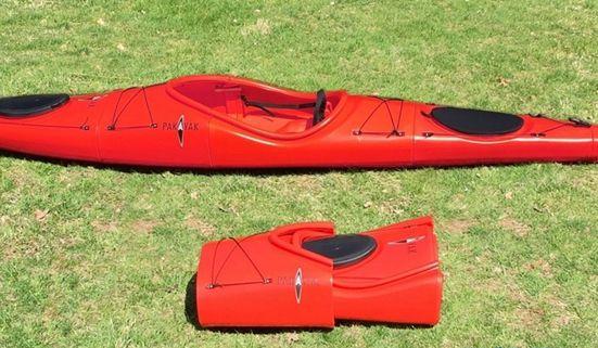 美初创公司推出可拆卸独木舟 折起如背囊可携带