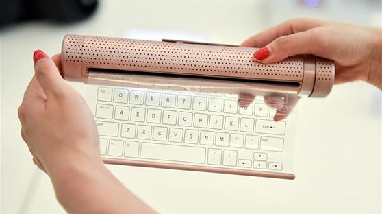 柔性传感透明键盘!这货居然已经实现了
