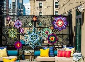 在纽约市中心躺私人帐篷观望星晨!
