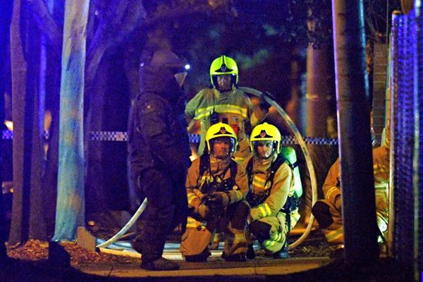 澳洲男子驾车试图袭击警察局 车上满是煤气罐