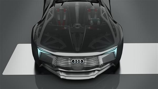 奥迪核动力概念跑车设计曝光 这才配叫Dream Car