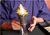 岛国没事就研究吃 包冰淇淋的金箔都能吃