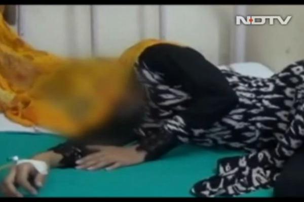 印度女子3年被同一批人强奸2次