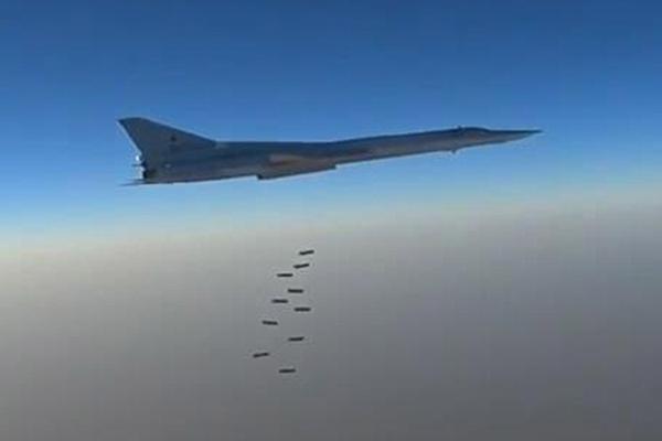 俄罗斯发现IS新据点 对叙利亚展开空袭