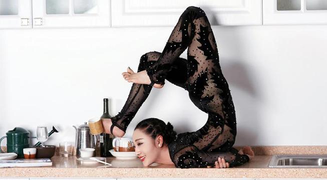 柔术美女刘藤秀场