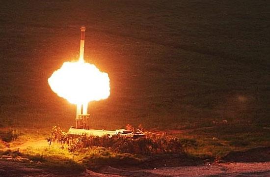俄军实射堡垒P导弹场景震撼