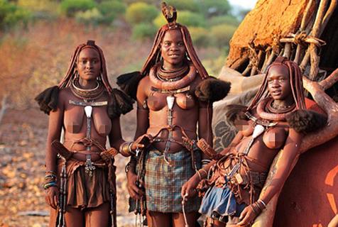 纳米比亚辛巴族:即将消失的红泥人