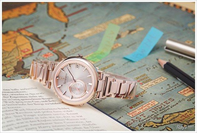 当智美腕表邂逅夏日旅行 卡西欧SHEEN粉金色系列时刻相随