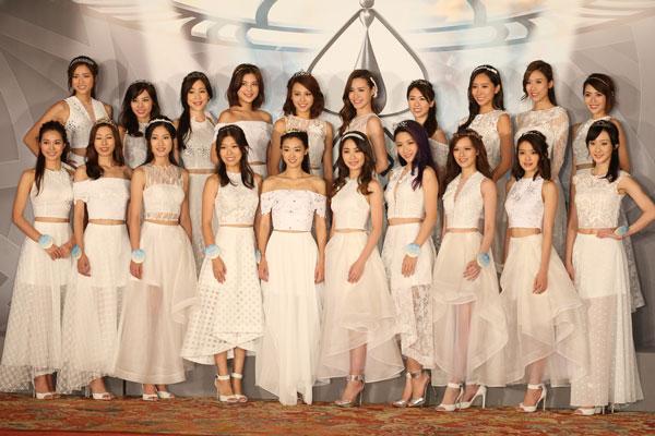 2016香港小姐20强出炉 看看她们长啥样