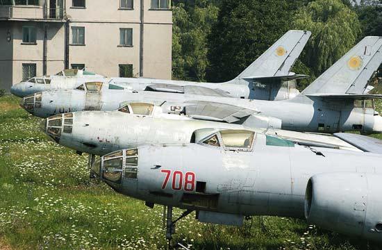 罗马尼亚军队曾装备中国轰炸机