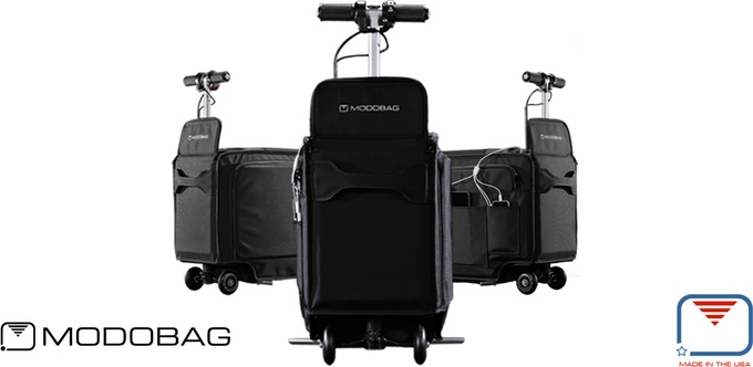 这画风也是迷醉!能坐着去旅行的行李箱