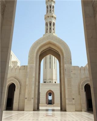 阿曼--苏丹卡布斯大清真寺