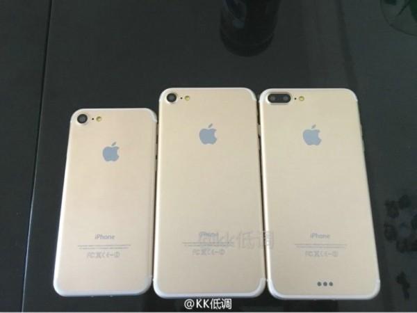 吵起来了 网友默默晒出iPhone 7全家福