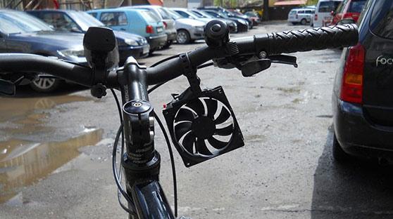 风力发电做成移动电源 骑行2公里充电5分钟?