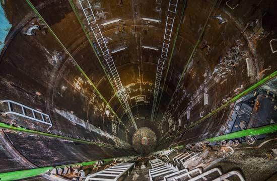 探秘俄军遗弃的洲际导弹发射井