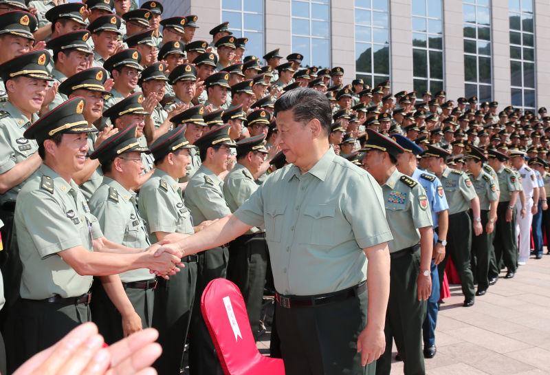 习近平视察陆军机关时强调加快推进陆军转型建设