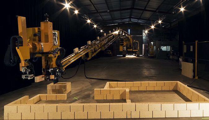 搬砖工人也要失业了 机器人瓦匠2天内建起一栋楼