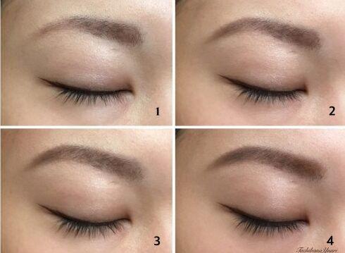 这样画眉显脸小!4步打造完美眉型