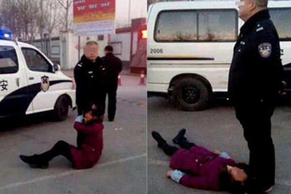 """""""太原警察打死农妇案""""5次延期 开庭1年多未判"""