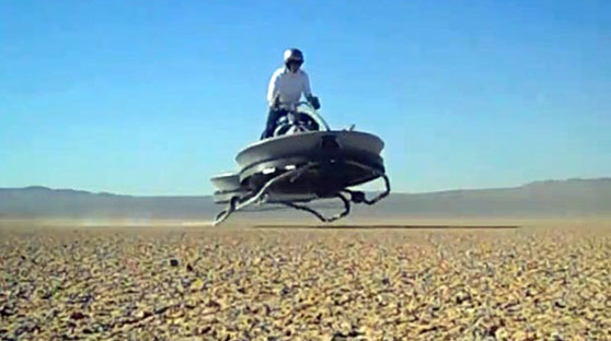 Aero-X悬浮摩托有望明年开售