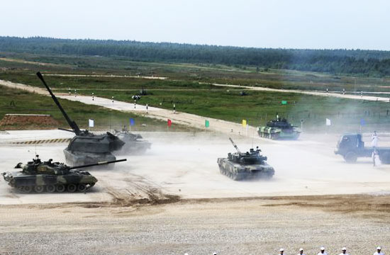 2016国际军事比赛火热进行中