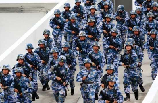 中国南沙各岛礁守卫部队曝光