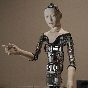 会交谈能唱歌 机器人Alter手指灵活还有面部表情