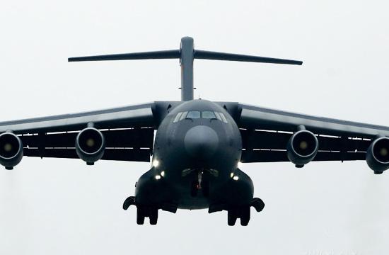 中国空军发布八一大练兵猛照