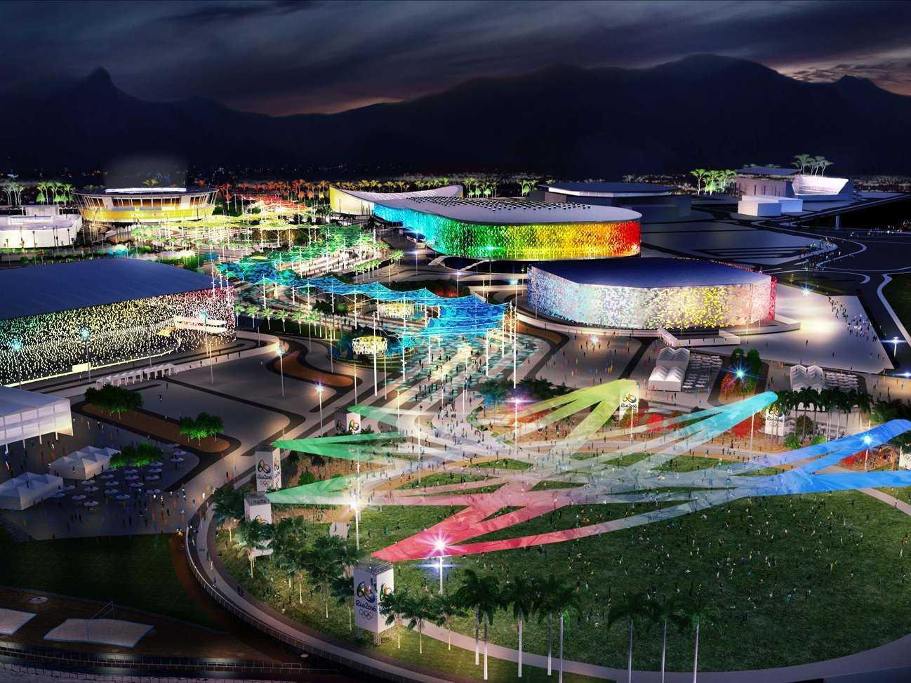 里约奥运场馆想象图