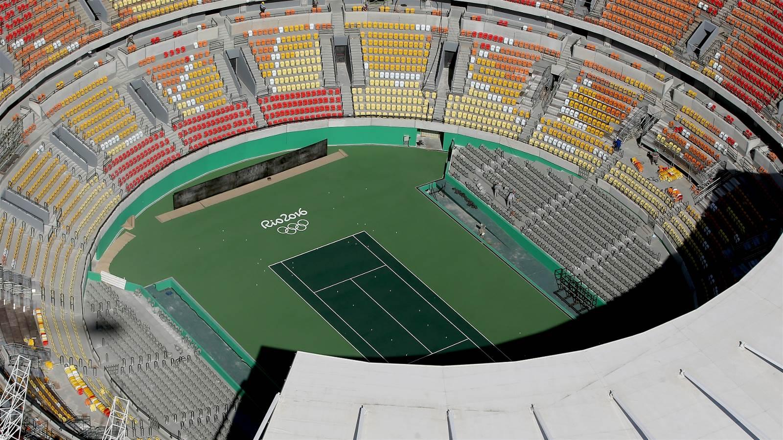 里约奥运场馆航拍图