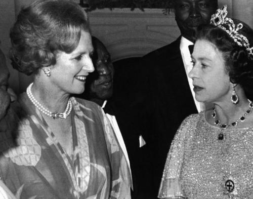 """撒切尔与英女王""""宫斗""""多年:不掩饰互不喜欢"""