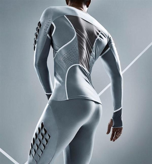 太美!避孕套材质做的运动服:触感如皮肤