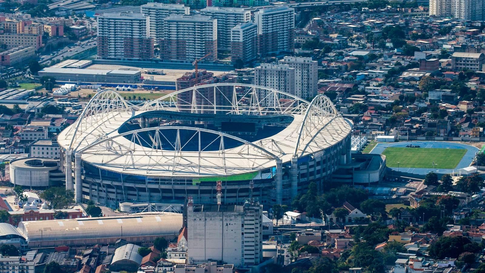 航拍 里约奥运会场馆更新组图