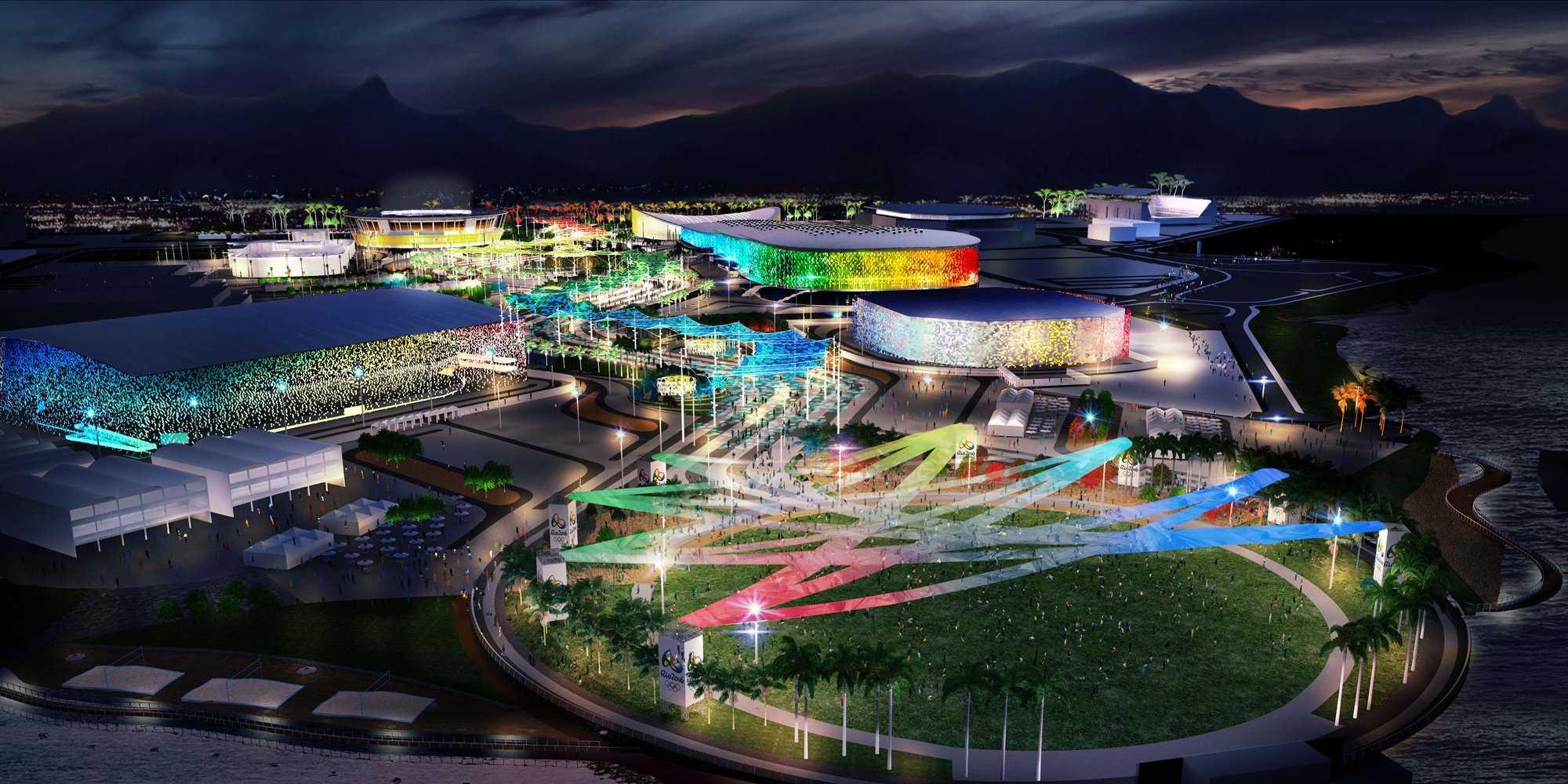 航拍奥运 细数2016里约奥运会场馆想象图