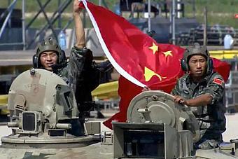 中国96B坦克在俄参赛暂居第一名