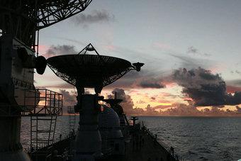 远望7号测量船测控首战告捷