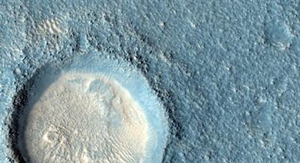NASA公布最新火星伪色彩高清照 张张震撼人心