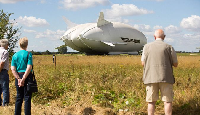 """英国打造的全球""""巨无霸""""飞行器首次亮相"""